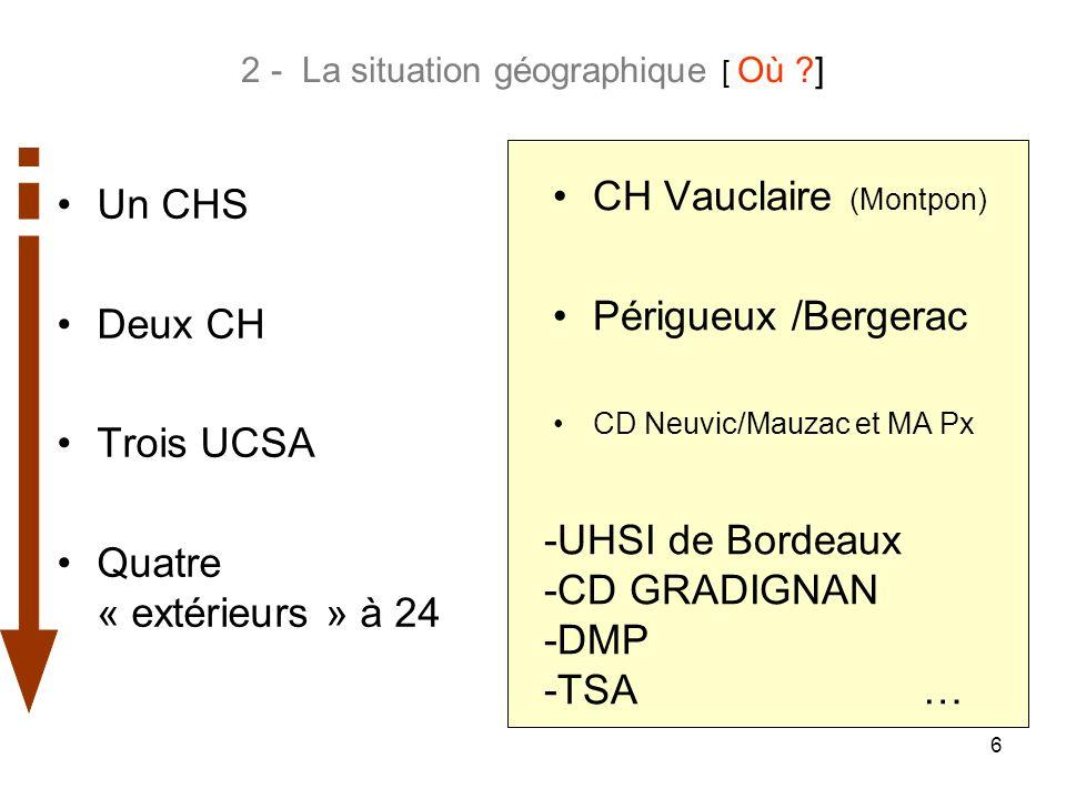 2 - La situation géographique [ Où ]
